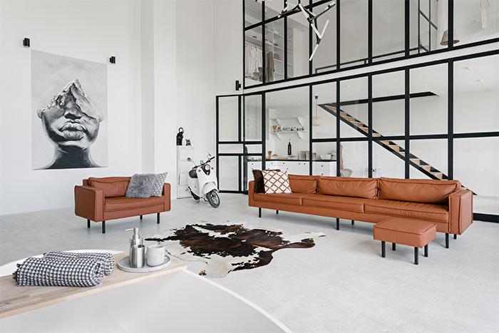 salón estilo moderno estilo arquitectónico