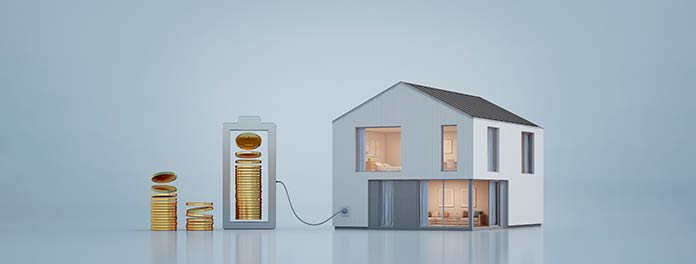 Concepto de passivhaus o casa pasiva en Madrid